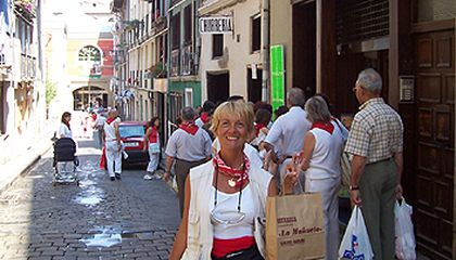 """Interview with Erla Zwingle, Author of """"Pamplona: No Bull"""""""