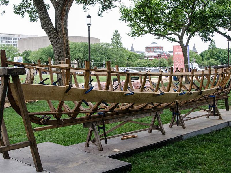 Ship Building on the National Mall