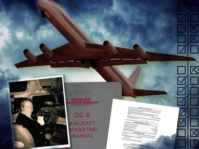 In 2007 the author and crew relied on his 15 years in the DC-8
