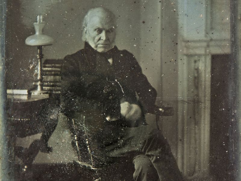 See The Earliest Known Photograph Of A US President At