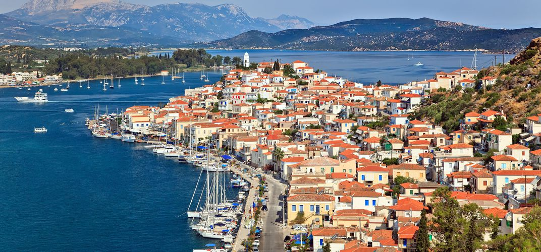 Poros Greece Map.Athens And Poros A Stay In Greece Smithsonian Journeys