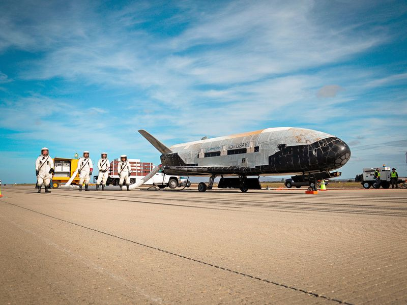 Image result for US. Air Force's X-37B