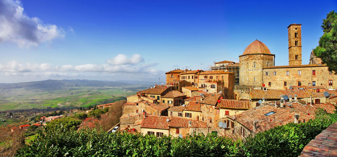 The Tuscan hill town of Volterra