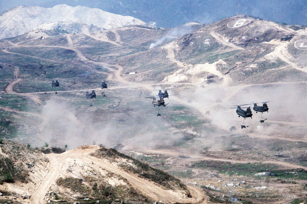 CH-47s on Nightmare Range