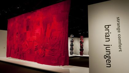 Brian Jungen Show Opens at American Indian Museum