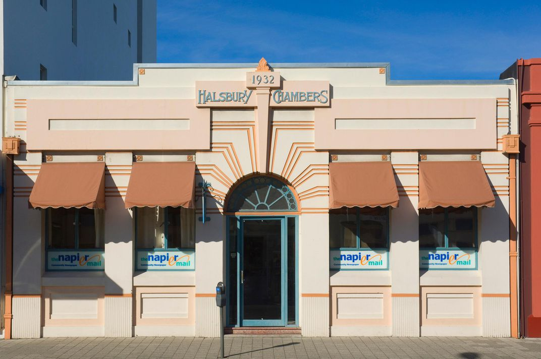 how an earthquake turned this new zealand town into the art deco