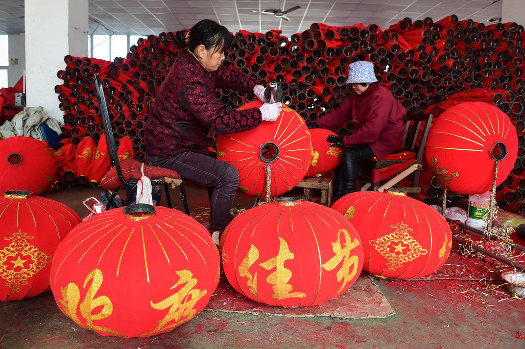 China's lantern makers are gearing up for the new year
