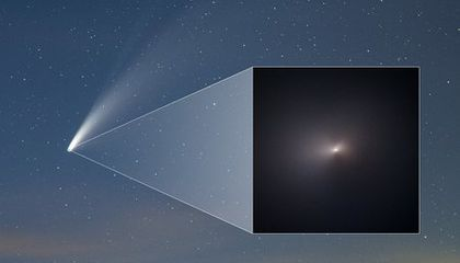 Hubble Snapshots Reveal That Comet Neowise Survived Its Trip Around the Sun