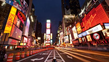 Times Square's Iconic Billboards May Be Illegal