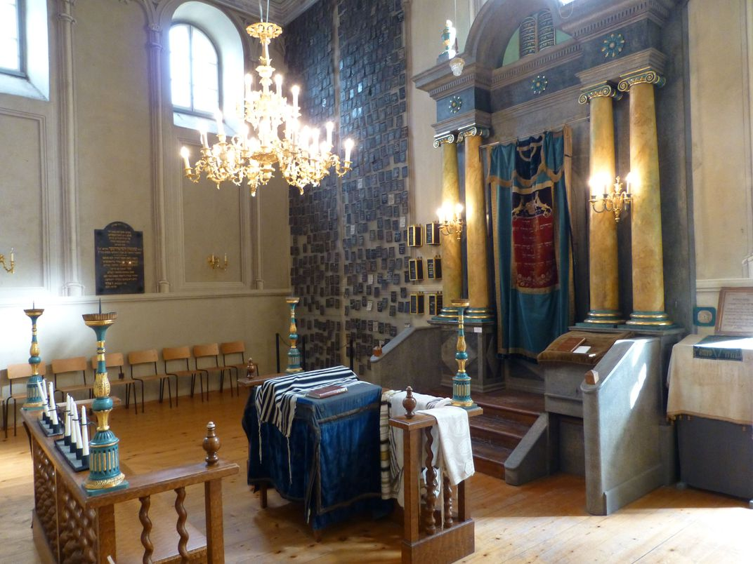 Synagogue in the former Jewish ghetto, Eisenstadt (John Tindale)