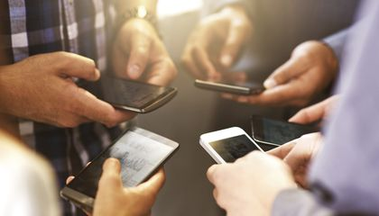 What Cell Phone Grime Reveals About Lifestyle