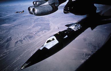 X-15 drop from the B-52