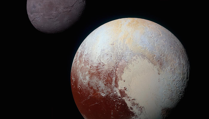 Is Pluto Actually a Mash-up of a Billion Comets?