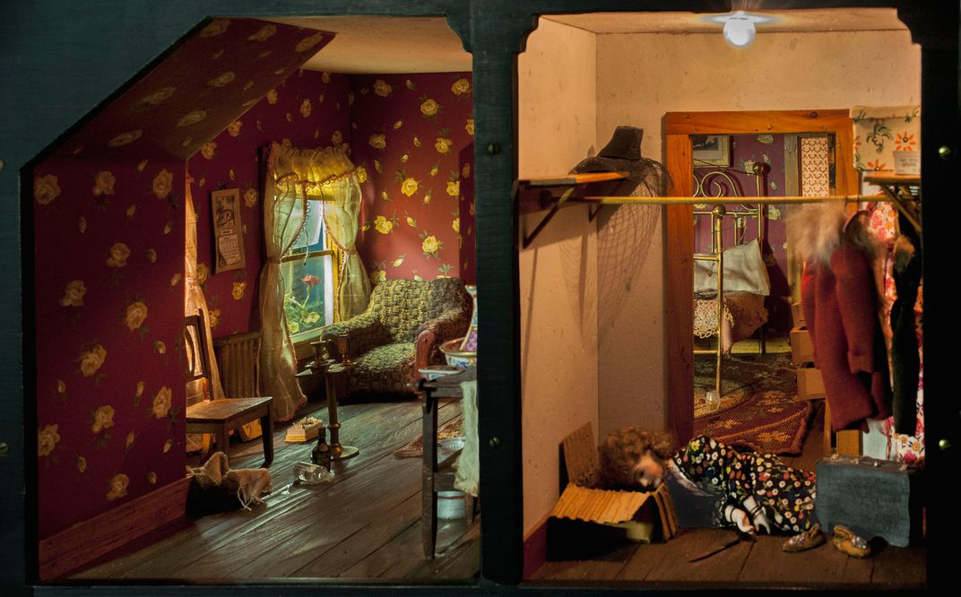 Home Is Where The Corpse Is At Least In These Dollhouse Crime Scenes