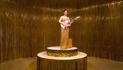 Why a Woman Is Playing the Same Guitar Chord Over and Over Again at the Hirshhorn