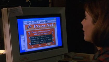 Ordering Pizza Online in the Retrofuture