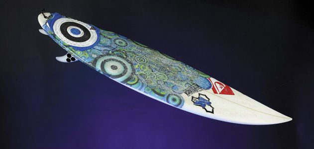 Kelly Slater surfboard