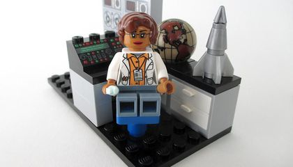 "Image: Meet LEGO's ""Women of NASA"""