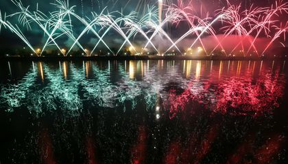 Dazzling Photos of Russia's First Annual Pyrotechnic Festival