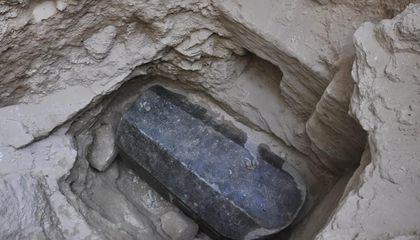 Egyptian Authorities Open Sealed Ptolemaic-Era Sarcophagus