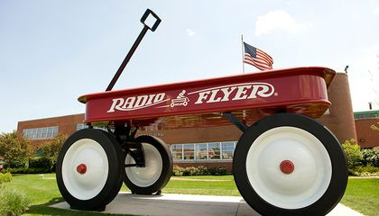 Image: How an Italian immigrant rolled out the Radio Flyer across America