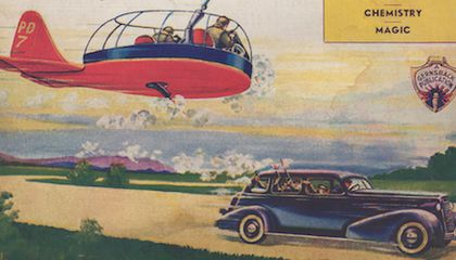 Mobsters Tremble Before the Crime-Fighting, Red Flying Gondola