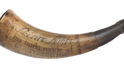 The Revolutionary War Patriot Who Carried This Gunpowder Horn Was Fighting for Freedom—Just Not His Own