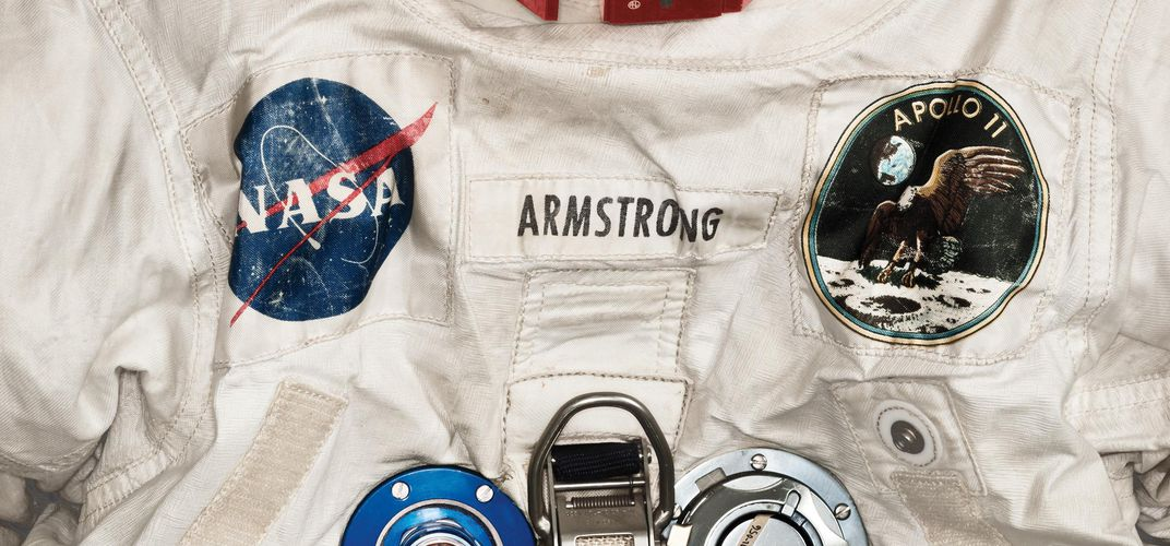 Caption: Preserving Neil Armstrong's Spacesuit