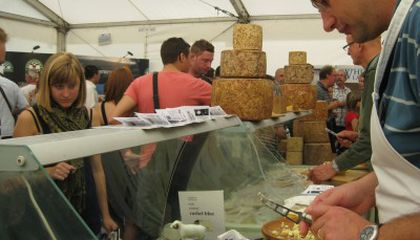 Report from British Cheese Festival: Yes, There Is Such a Thing as Too Much Cheese