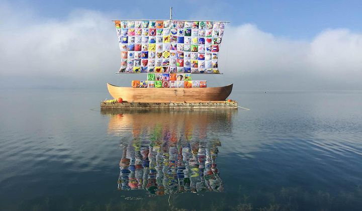 Former Soviet Art Duo Crafts Whimsical Wonderlands