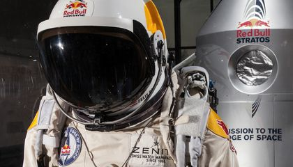 Felix Baumgartner's Spacesuit From His Death-Defying Stratospheric Jump Joins the Smithsonian Collections