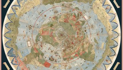 This Newly Digitized 16th-Century Planisphere Is the Largest-Known Early Map