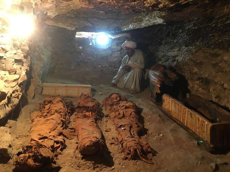 New ancient Egyptian tomb unearthed near Valley of Kings