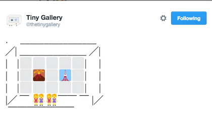 This Twitter Account Turns Emojis Into Gallery Art