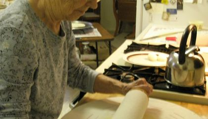 Inviting Writing: Lefse Lessons With Grandma