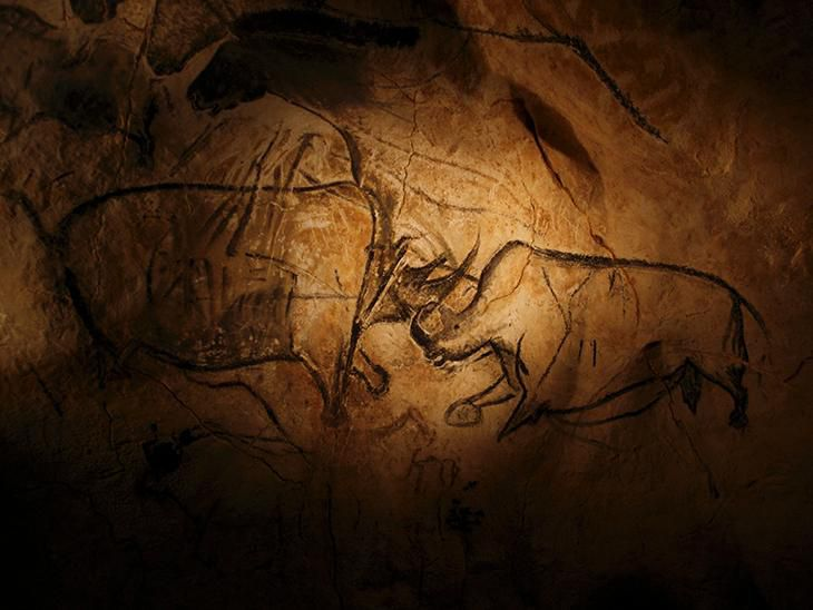 """dating chauvet cave paintings The chauvet cave's hyperreal wonders, replicated  for the cave, views the chauvet paintings as """"a  the exact dating of the cave as well as."""