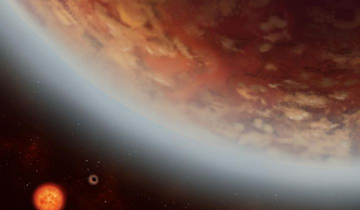 Water Vapor Detected in an Exoplanet Atmosphere