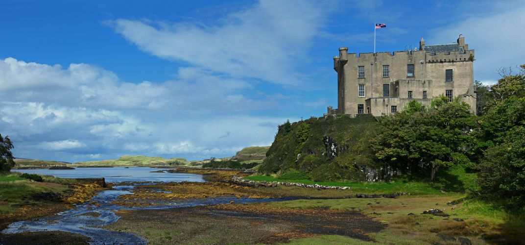 Dunvegan Castle, on Scotland's Isle of Skye
