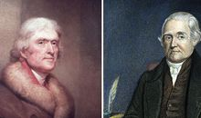 Global warming debate Thomas Jefferson and Noah Webster