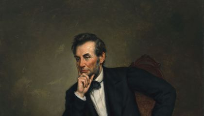 A Scholar Takes a Deep Dive Into a Painted Homage to Abraham Lincoln