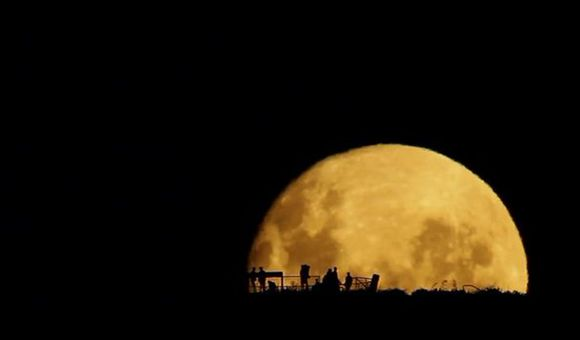 Preview thumbnail for video'Full Moon Silhouettes