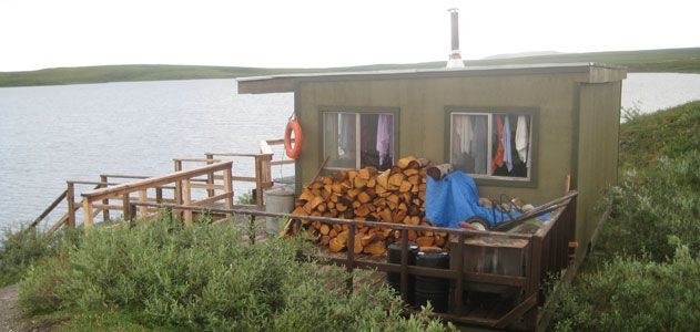 sauna in Toolik