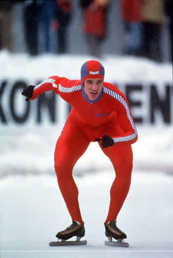 Eric Heiden, Speed Skating