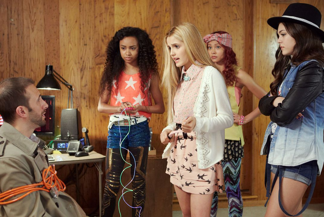 New TV show puts smart girls in spotlight