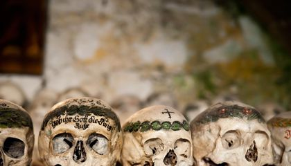 This Austrian Ossuary Holds Hundreds of Elaborately Hand-Painted Skulls