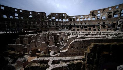 The Tunnels Beneath Rome's Colosseum Are Open to the Public for the First Time