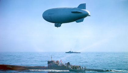 How Navy Blimps Beat Back German U-Boats During the Battle of the Atlantic