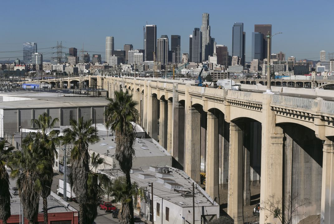 Famous LA bridge is coming down