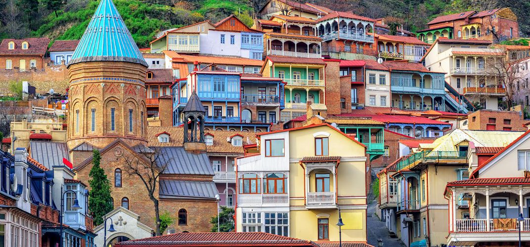 Old Town architecture, Tbilisi