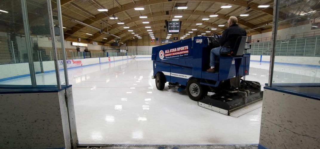 Caption: How the Zamboni Changed the Game for Ice Rinks